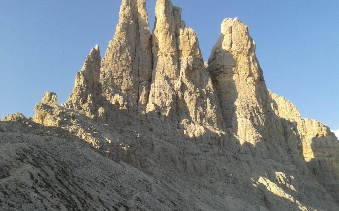 Dolomity – věže Vajolet