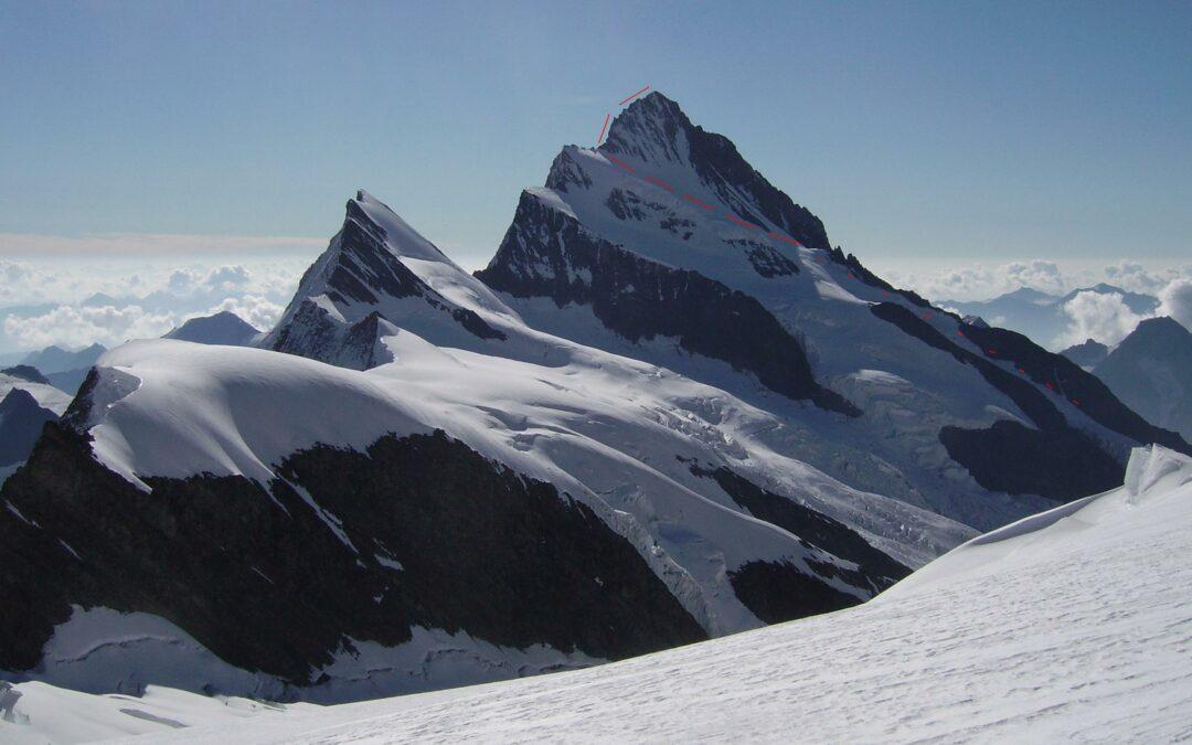 Bernské Alpy – Finsteraarhorn