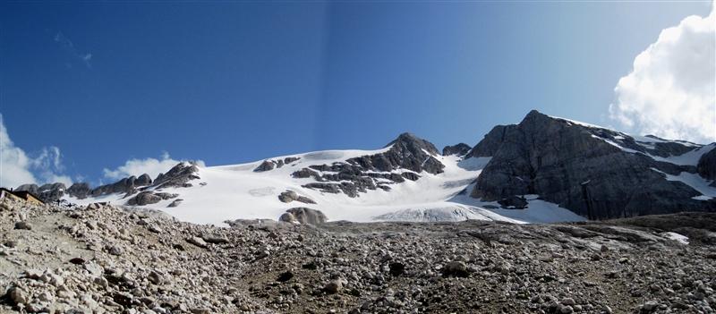 Civetta 3220m a Marmolada 3343m