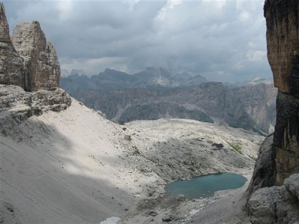 Dolomity – Rosengarten a Sella