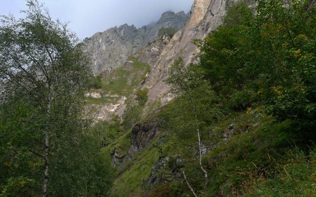 Pinnacolo di Maslana – žulová věž u Bergama v Itálii